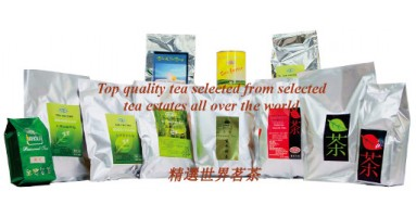 Top quality black tea, green tea, Japanese tea, Oolong tea organic rooibos and rose floral teas